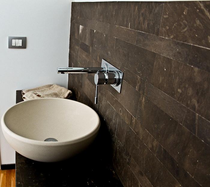 Bagno Design Ecologico In Pietra : Bagno in pietra lavica design casa creativa e mobili